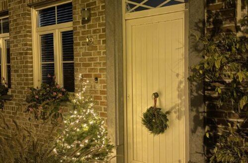 kerstsfeer binnen en buiten
