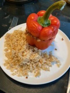 makkelijk en goedkoop: gevulde paprika