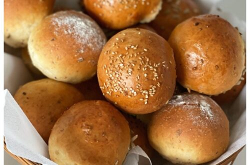 heerlijke zelfgebakken broodjes