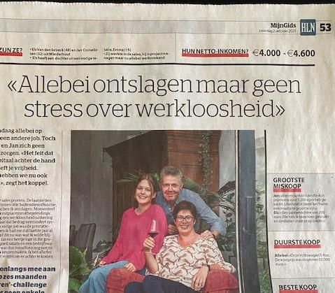 Interview en dan stonden we in de krant